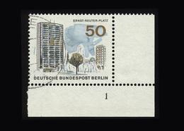 Berlin 1965, Michel-Nr. 259, Das Neue Berlin, 50 Pf., Eckrand Rechts Unten Mit Formnummer 1, Gestempelt - Gebraucht