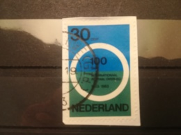 FRANCOBOLLI STAMPS OLANDA NEDERLAND 1963 USED SU FRAMMENTO CONFERENZA PARIGI PAESI BASSI FRAGMENT - Periodo 1949 - 1980 (Giuliana)