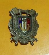 Membre Actif, Fédération Nationale Sapeurs Pompiers Français, émail ,FABRICANT ARTHUS BERTRAND  ,HOMOLOGATION SANS,  BON - Firemen