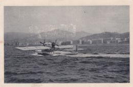 """1930circa-idrovolante """"Dornier Wal"""" In Partenza Da Trieste, Viaggiata - Postcards"""