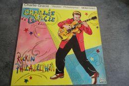 Disque 25 Cm De Charlie Gracie - Rockin' Philadelphia -big Beat Records BBR-0009 1980 - - Rock
