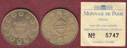 L'euro Vaut 6,55957 Francs - Sédao - Monnaie De Paris