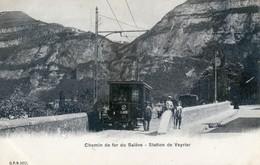 Suisse - Genève - Chemin De Fer Du Salève - Station De Veyrier - GE Genève