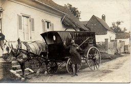 Bachimont : Carte-photo D'un Marchand Ambulant (Hemery) - Autres Communes