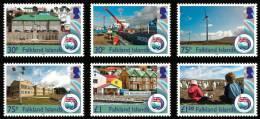 Falkland Islands 2012 30th Anniversary Of Liberation Ships Penguins 6v MNH NEW - Falkland Islands