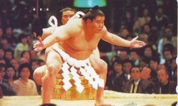 Télécarte  Japon * SUMO * JAPAN (925) LUTTE LUTTEURS WORSTELEN * JUDO * Kampf Wrestling LUCHA Phonecard - Sport
