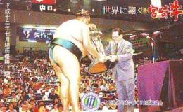 Télécarte  Japon * SUMO * JAPAN (926) LUTTE LUTTEURS WORSTELEN * JUDO * Kampf Wrestling LUCHA Phonecard - Sport