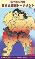 Télécarte  Japon  * SUMO * JAPAN (932) LUTTE LUTTEURS WORSTELEN * JUDO *  Kampf Wrestling LUCHA Phonecard - Sport