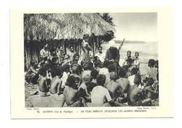 OCEANIE ( Ile Du Pacifique)...Un Père Mariste Catéchise Les Jeunes Indigènes - Cartes Postales