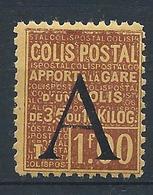 FRANCE - 1928 - Colis Postaux - Y.T. N°81 - 1 F. 00 Brun Sur Jaune - Apport à La Gare - Neuf** - TTB - Colis Postaux