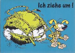 AK-37992   -  Marsu Sammelkarte - Ich Ziehe Um     ! - Humor