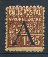 FRANCE - 1928 - Colis Postaux - Y.T. N°83 - 1 F. 65 Brun Sur Jaune - Apport à La Gare - Neuf** - TTB - Colis Postaux