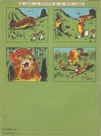 """Protège-cahier Illustré Par Une Fable De La Fontaine :"""" Le Chat, La Belette Et Le Petit Lapin """" Illustré Par M. PARENT. - Book Covers"""