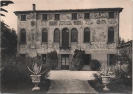Fossalunga (Vedelago, Treviso): Villa Sernagiotto, Monumento Nazionale. Viaggiata 1961 - Treviso