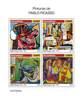MOZAMBIQUE 2019 - Pablo Picasso. Official Issue - Picasso