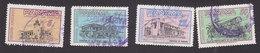 Panama, Scott #C256, C261-C262, C264, Used, Buildings, Issued 1962 - Panama