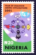 2001 - NIGERIA - DIALOGO FRA LE CIVILTA' / DIALOGUE AMONG CIVILIZATIONS. MNH - Emissioni Congiunte