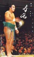 Télécarte  Japon * SUMO * JAPAN (952) LUTTE LUTTEURS WORSTELEN * JUDO *  Kampf Wrestling LUCHA Phonecard - Sport