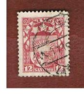LETTONIA (LATVIA)   -  SG 104  -  1923 COAT OF ARMS   12  -   USED - Lettonia
