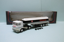 Herpa - Semi-remorque RENAULT Citerne TEXACO Réf. 848001 Neuf NBO HO 1/87 - Véhicules Routiers