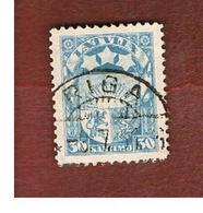LETTONIA (LATVIA)   -  SG 140  -  1927 COAT OF ARMS   30  -   USED - Lettonia