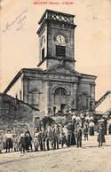 CPA RECOURT ( Meuse ) - L' Eglise - France