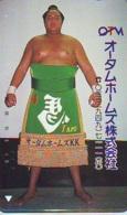 Télécarte  Japon * SUMO * JAPAN (967) LUTTE LUTTEURS WORSTELEN * JUDO *  Kampf Wrestling LUCHA Phonecard - Sport