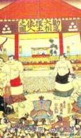 Télécarte  Japon * SUMO * JAPAN (978) LUTTE LUTTEURS WORSTELEN * JUDO *  Kampf Wrestling LUCHA Phonecard - Sport