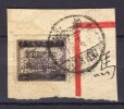 China 1949, Surch. On Kwang Tung Unit Stamp (Key-stamp) On Peace Of Paper - 1912-1949 Republiek