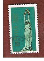 LETTONIA (LATVIA)   -  SG 338  -  1991 FREEDOM MONUMENT, RIGA -   USED - Lettonia