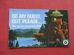 Smokey The Bear-- Only You Can Prevent Forest Fire          Ref 3346 - Advertising