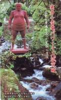 Télécarte  Japon * SUMO * JAPAN (984) LUTTE LUTTEURS WORSTELEN * JUDO *  Kampf Wrestling LUCHA Phonecard - Sport