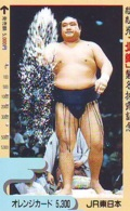 Télécarte  Japon * SUMO * JAPAN (986) LUTTE LUTTEURS WORSTELEN * JUDO *  Kampf Wrestling LUCHA Phonecard - Sport