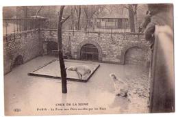 4426 - Paris ( 5e ) - Jardin Des Plantes - Crue De La Seine ( La Fosse Aux Ours Envahie Par Les Eaux ) - E.L.D. - - Paris (05)