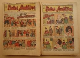 Lot 52 Numéros - Editions Mondiale Nice - Les Belles Aventures - Du 12 Avril 1943 Au 16 Août 1944 - - Magazines Et Périodiques