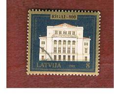 LETTONIA (LATVIA)   -  SG 430  -  1995 NATIONAL OPERA  HOUSE  -   USED - Lettonia