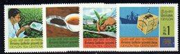 CI926a - CEYLON SRI LANKA 1967,  Serie Yvert  377/380  ***  MNH (2380A). Thè - Sri Lanka (Ceylon) (1948-...)