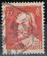 (FR 823) FRANCE // YVERT 306 // JACQUES CALLOT // 1935 - Oblitérés