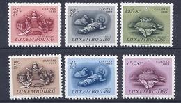 190031445  LUXEMBURGO  YVERT   Nº  500/5  **/MNH - Luxemburgo