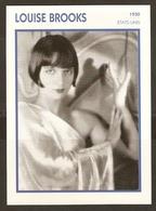 PORTRAIT DE STAR 1930 ETATS UNIS USA - ACTRICE LOUISE BROOKS - ACTRESS CINEMA - Fotos