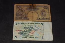 1/2 Et 5 Dinars - Tunisia