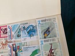 Emirati Arabi Sport Olimpiadi Greenoble - Stamps