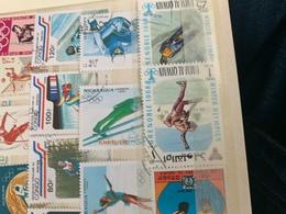 Emirati Arabi Sport Olimpiadi Greenoble Pattinaggio - Stamps