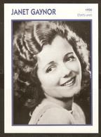 PORTRAIT DE STAR 1930 ETATS UNIS USA - ACTRICE JANET GAYNOR - ACTRESS CINEMA - Fotos