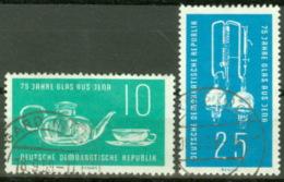 DDR 713/14 O Tagesstempel - Gebraucht
