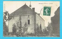 Rare CPA ALEXAIN L'hôpital 53 Mayenne - Other Municipalities