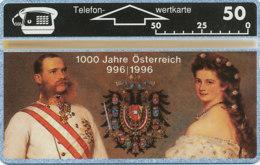 ÖSTERREICH Private Telefonkarte  P 166 93 1000 Jahre Österreich -  307 L -  Auflage  2 000 Stück - Siehe Scan -10834 - Oesterreich