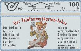 ÖSTERREICH Schalter Telefonkarte Nr. 26 Der Telefonkarten-Joker - 105 A -  Auflage  100 000 Stück - Siehe Scan -10835 - Oesterreich