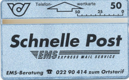 ÖSTERREICH Schalter Telefonkarte Nr. 32 Schnelle Post / EMS - 201 B -  Auflage  25 000 Stück - Siehe Scan -10838 - Oesterreich