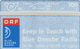ÖSTERREICH Schalter Telefonkarte Nr. 46 Blue Danube Radio - 211 D -  Auflage  100 000 Stück - Siehe Scan -10839 - Oesterreich